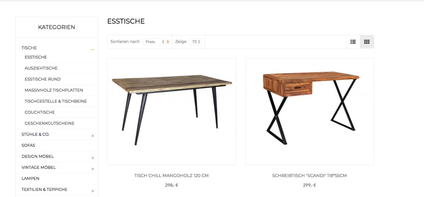 Tische – Tischplatten, runde Tische, eckige Tische und was für Tische gibt es noch?